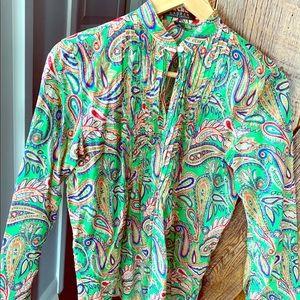 Lauren by Ralph Lauren tunic top